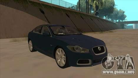 Jaguar XFR 2010 v1.0 para GTA San Andreas left