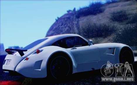 Wiesmann GT MF5 2010 para vista lateral GTA San Andreas