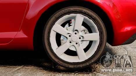 Mazda RX-8 Light Tuning para GTA 4 vista hacia atrás