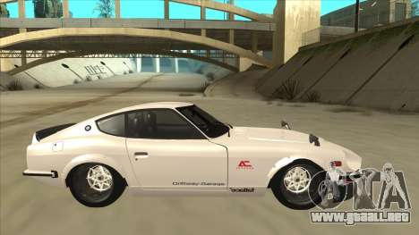 Nissan Fairlady Z - 240z para GTA San Andreas left