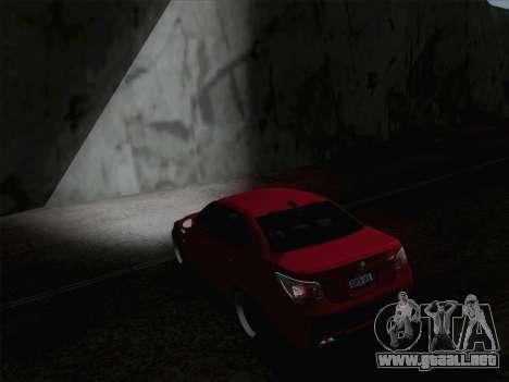 Faros de media y alta haz para GTA San Andreas sucesivamente de pantalla