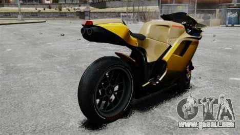 Ducati 848 para GTA 4 left