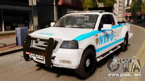 Ford F-150 v3.3 NYPD [ELS & EPM] v3 para GTA 4