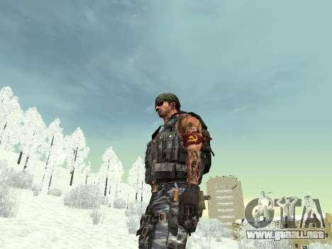Comando para GTA San Andreas octavo de pantalla