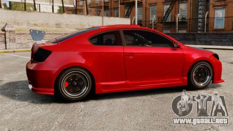 Scion tC 2.4 v2.0 Tuning Edition para GTA 4 left