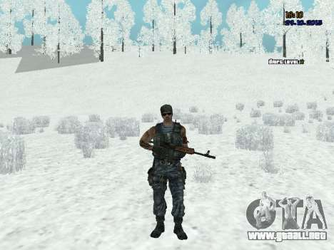 Comando para GTA San Andreas segunda pantalla