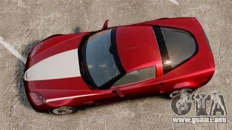 Chevrolet Corvette C6 Z06 V1.1 para GTA 4 visión correcta