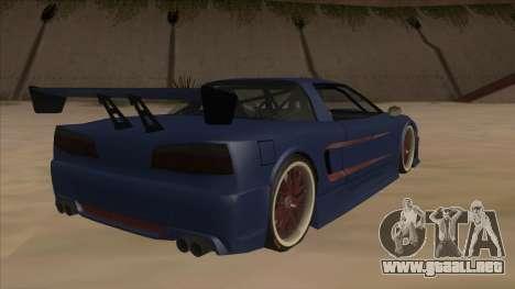 Infernus 2013 para la visión correcta GTA San Andreas