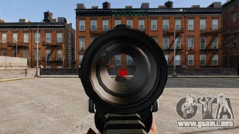 V1 M4 Tactical para GTA 4 quinta pantalla