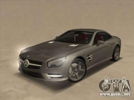 Mercedes-Benz SL500 2013 (ImVehFt v2.02) para la vista superior GTA San Andreas