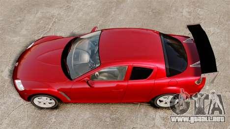 Mazda RX-8 Light Tuning para GTA 4 visión correcta
