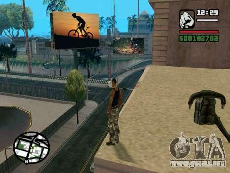 New BMX Park v1.0 para GTA San Andreas octavo de pantalla