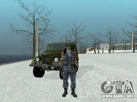 Comando para GTA San Andreas quinta pantalla