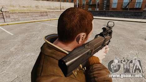 Subfusil FN P90 para GTA 4 segundos de pantalla