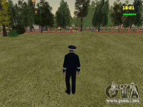 Oficial de policía de tráfico ruso para GTA San Andreas tercera pantalla
