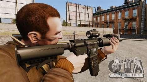 V1 M4 Tactical para GTA 4 segundos de pantalla