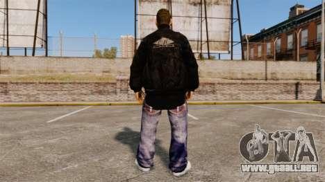 Domdrug PED de TBoGT para GTA 4 adelante de pantalla
