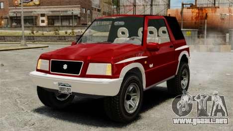 Suzuki Vitara JLX para GTA 4