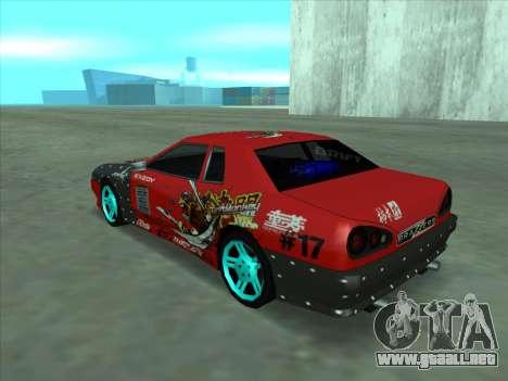 Drift elegy by KaMuKaD3e para visión interna GTA San Andreas