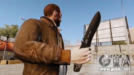 Cuchillo táctico v2 para GTA 4