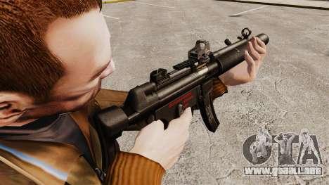 MP5SD subfusil ametrallador v1 para GTA 4 segundos de pantalla