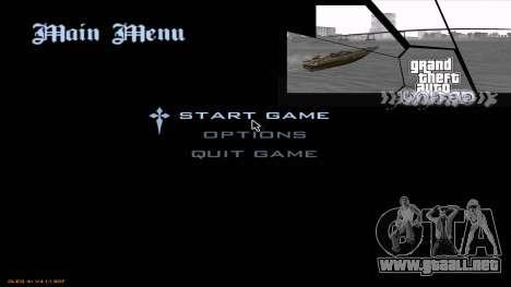 GTA United 1.2.0.1 para GTA San Andreas tercera pantalla