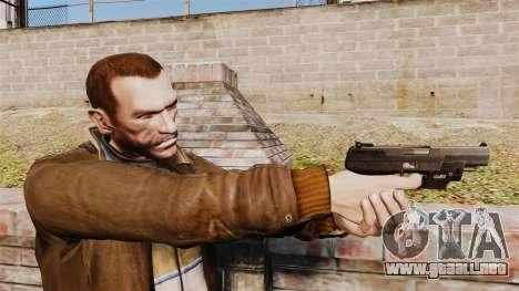 Carga automática pistola FN Five-seveN v1 para GTA 4