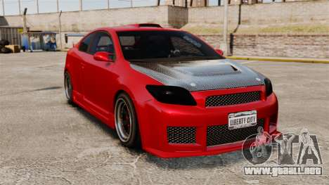 Scion tC 2.4 v2.0 Tuning Edition para GTA 4
