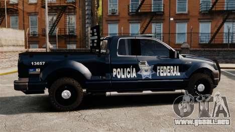 Ford F-150 De La Policia Federal [ELS & EPM] v1 para GTA 4 left