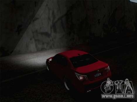 Faros de media y alta haz para GTA San Andreas tercera pantalla