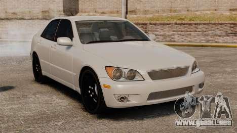 Lexus IS300 para GTA 4