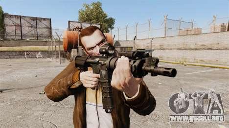 V1 M4 Tactical para GTA 4 tercera pantalla