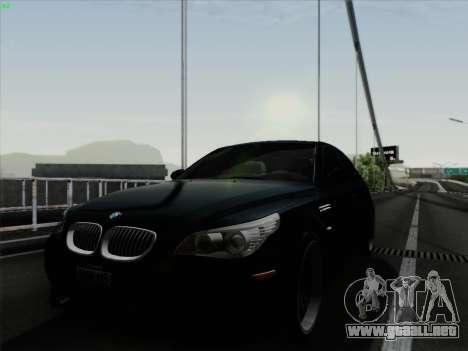 BMW M5 Hamann para GTA San Andreas vista posterior izquierda