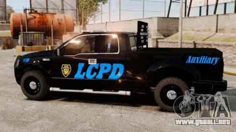 Ford F-150 v3.3 LCPD Auxiliary [ELS & EPM] v3 para GTA 4 left