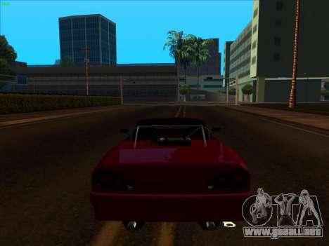 Elegy pickup by KaMuKaD3e para GTA San Andreas vista hacia atrás