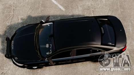 Ford Taurus Police Interceptor 2013 LCPD [ELS] para GTA 4 visión correcta