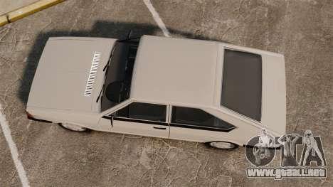 Volkswagen Passat TS 1981 para GTA 4 visión correcta