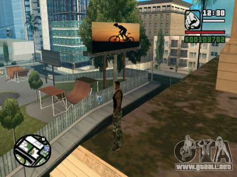 New BMX Park v1.0 para GTA San Andreas tercera pantalla