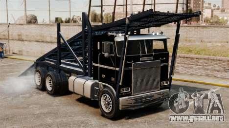 Packer-trampolín para GTA 4