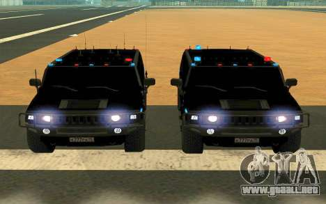 Hummer H2 para GTA San Andreas