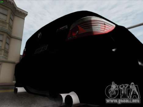 BMW M5 Hamann para vista inferior GTA San Andreas