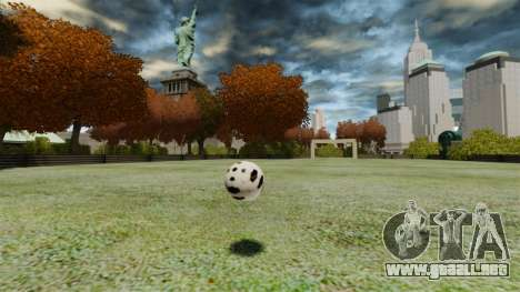 Campo de fútbol para GTA 4 tercera pantalla