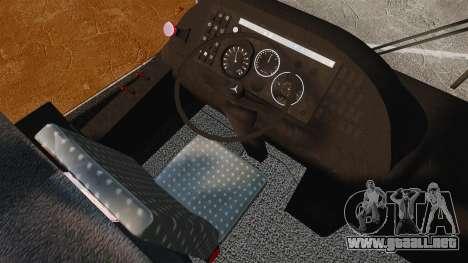 Mercedes-Benz O457 para GTA 4 vista hacia atrás