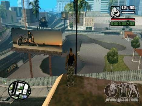 New BMX Park v1.0 para GTA San Andreas séptima pantalla