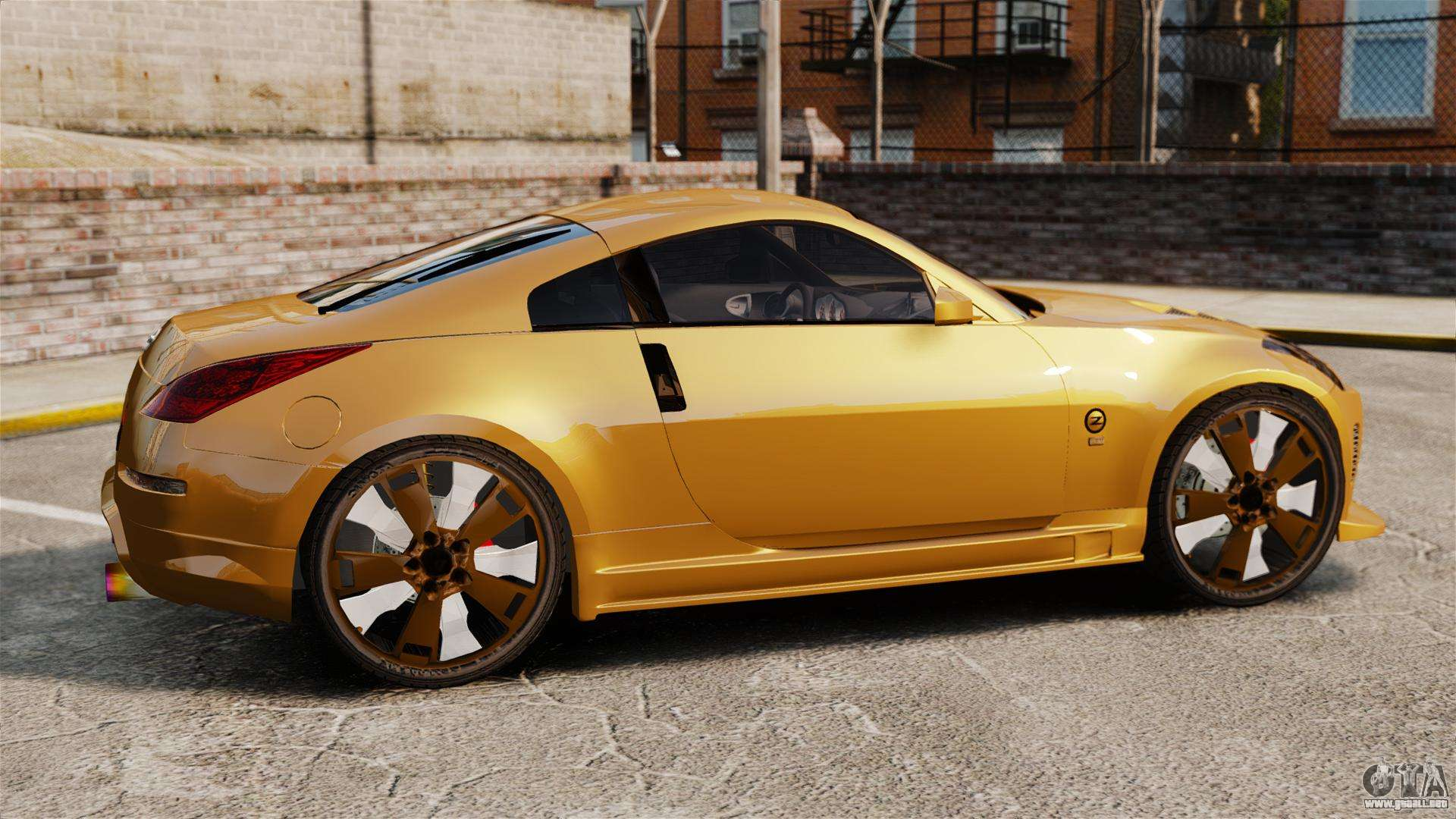 nissan 350z tuning para gta 4. Black Bedroom Furniture Sets. Home Design Ideas