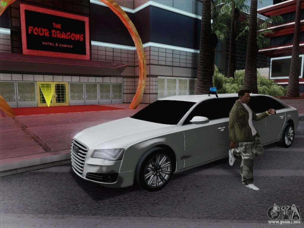 audi a8 limousine para gta san andreas. Black Bedroom Furniture Sets. Home Design Ideas