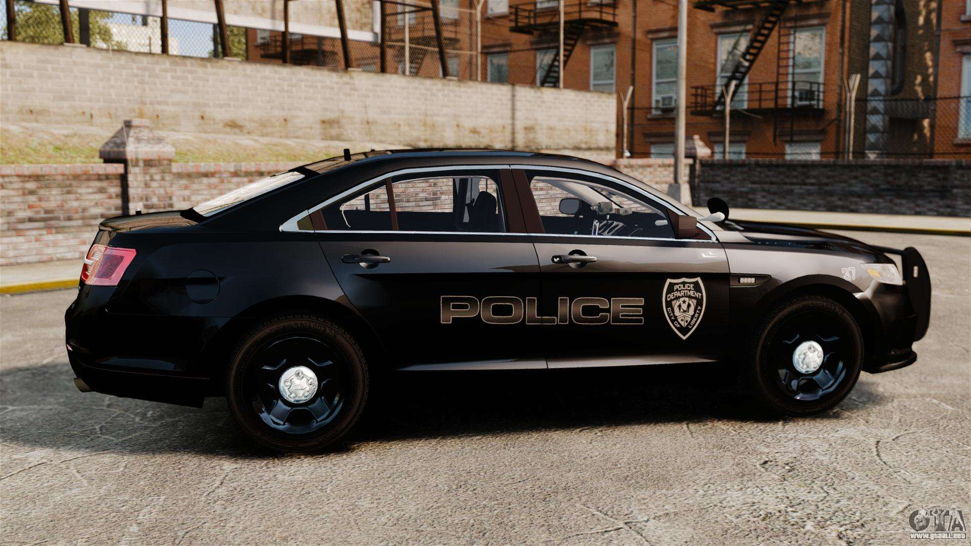 ford taurus police interceptor 2013 lcpd els para gta 4. Black Bedroom Furniture Sets. Home Design Ideas