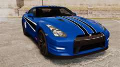 Nissan GT-R 2012 Black Edition AMS Alpha 12 para GTA 4