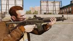 Rifle de asalto SIG 551 para GTA 4