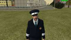 Oficial de policía de tráfico ruso
